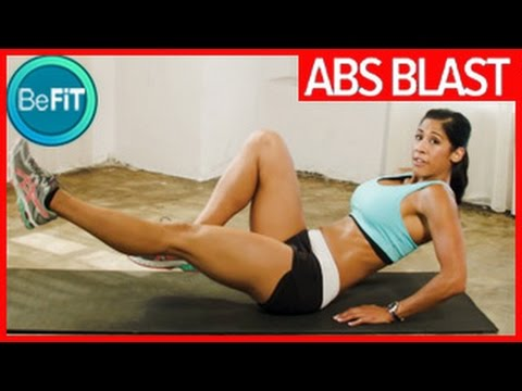 Abs Blast Workout for the Core- Edwina Cheer