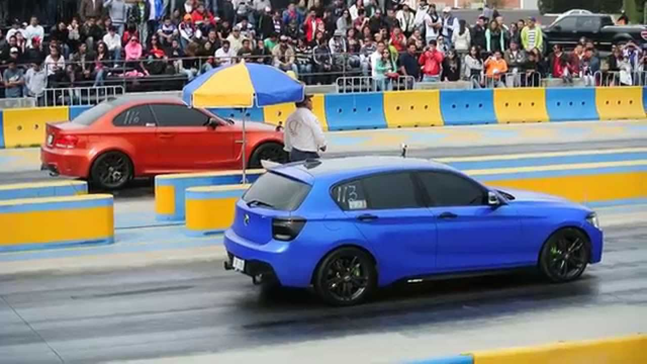 Bmw 1m Coupe Vs Bmw M135i F21 Arrancones Pegaso Enero 2015 Youtube