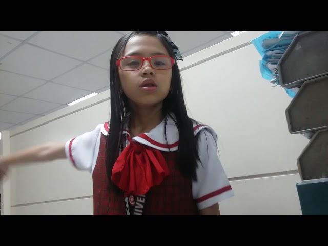 The camera movie ( pekeng movie at magulo mag video si Aliana) hehehe.