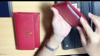 프라다 사피아노 여성 카드 지갑 .실용성 있는  지갑을…