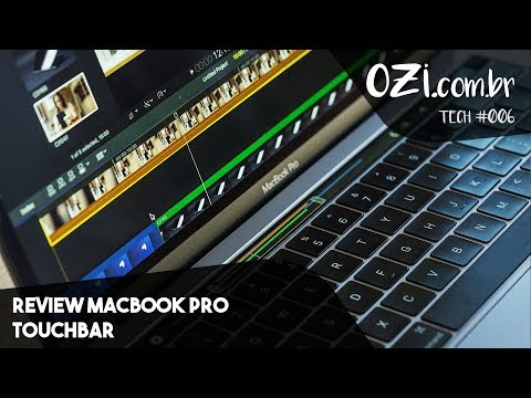 🔴 REVIEW MACBOOK PRO TOUCHBAR - OZI TECH #006