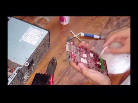 How to clean graphics card motherboard GPU fan