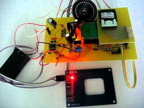 RFID PIC Audio Play MP3.AVI