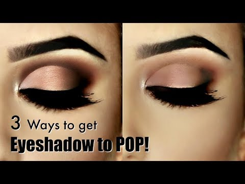 Beginner Eye Makeup | Week 2 | How to make Eyeshadow POP!