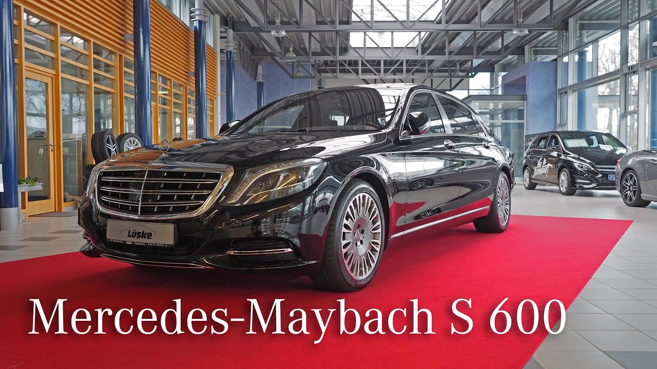 Lüske Mercedes mercedes-maybach s 600 i mercedes lüske in cloppenburg - youtube