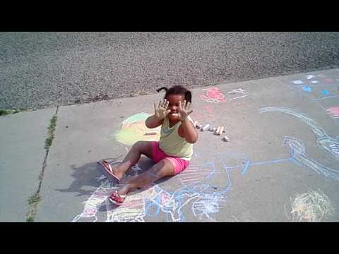 Kids On Summer Vacation   Burining Energy while making Art