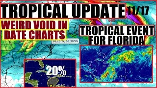 Florida may be preparing for a tropical event due to a system movin...
