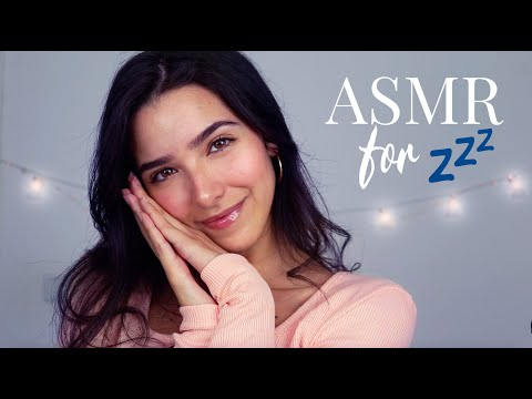 ASMR Sleepy Triggers 💤  (Mic scratching, Mic brushing, Wood sounds, Pillow sounds, countdown..)