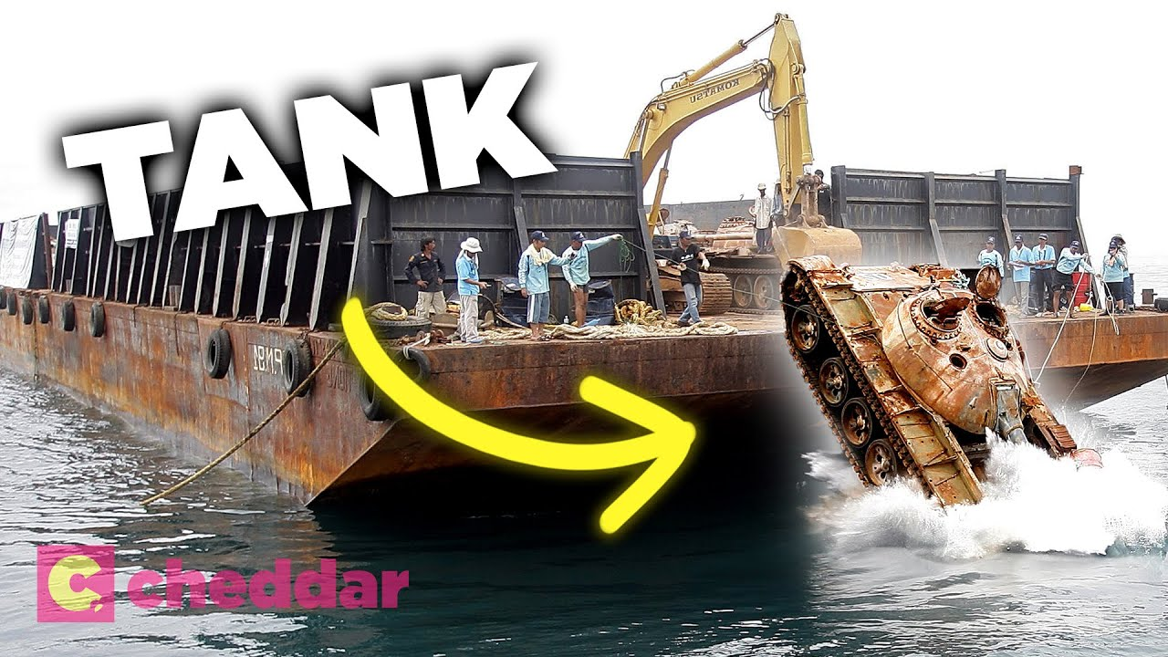 Why New York Dumps Old Trucks (And More) Into the Ocean - Cheddar Explores