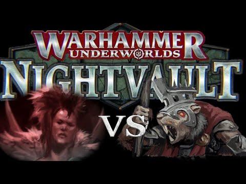 Underworlds Nightvault - Battle Report - The Godsworn Hunt Vs Skritch's Swarm!