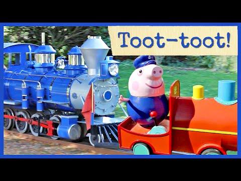 TRAIN RIDES at Peppa Pig World