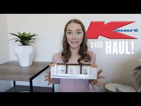 Kmart Decor Haul   $400 Haul!