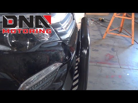 How to Install 09-15 Honda Pilot Grille Guard