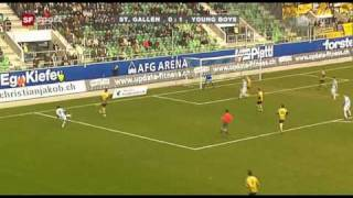 St. Gallen - Young Boys 1:2 21.02.10