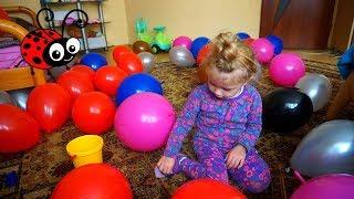 Surprize in Baloane/Video Educativ/Joc pentru Copii/Invatam Culorile