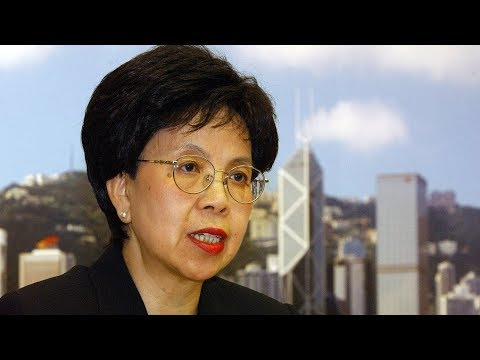 Margaret Chan: China Leads The Way In Infectious Diseases Control