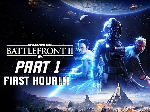 STAR WARS BATTLEFRONT 2 Gameplay Walkthrough Part 1 - First Hour!!! (PC Let's Play Commentary)
