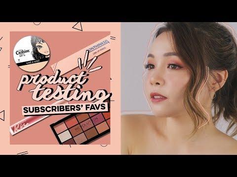 Thử Sản Phẩm Subscribers Yêu Thích ♡ Testing Subscriber's Faves ♡ TrinhPham
