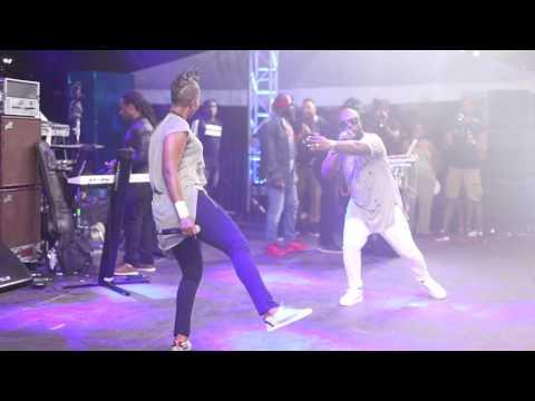Bunji Garlin & Fay-Ann Lyons live at 2017 Bahamas Junkanoo Carnival 05.05.17