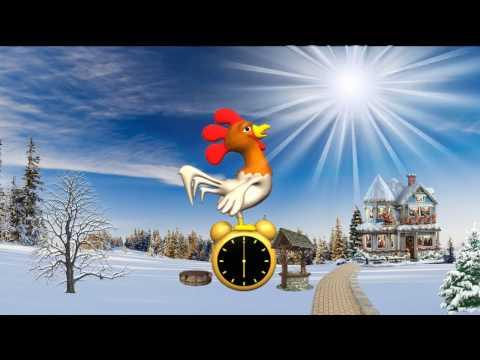 С Новым 2017 годом, годом Огненного Петуха (анимационный клип - Видео приколы ржачные до слез