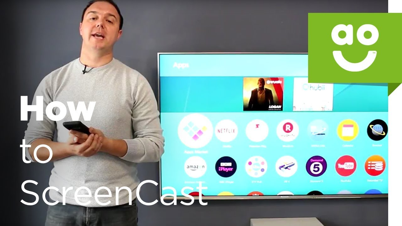 How to Screencast using your Smart TV | ao com