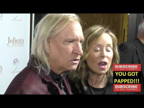 Marjorie Walsh and Joe Walsh at Ringo Starr And Barbara Bach Julien's Auctions Event at Julien's Auc