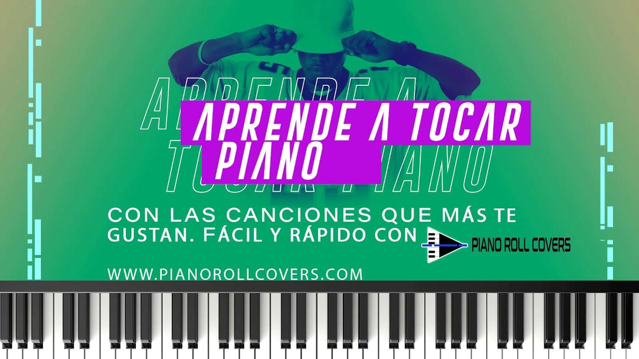 APRENDE A TOCAR PIANO FÁCIL. PIANO ROLL COVERS - YouTube