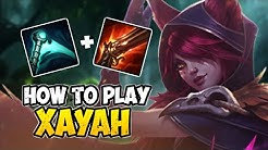 How to Play XAYAH ADC for Beginners | XAYAH Guide Season 10 | League of Legends