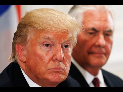 Trump To Tillerson: Don't Bother Negotiating With 'Little Rocket Man'