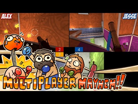 Multiplayer Mayhem!!! - Screencheat