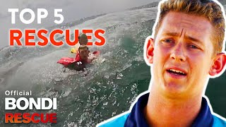Top 5 LIFE SAVING Rescues - Bondi Rescue Season 11