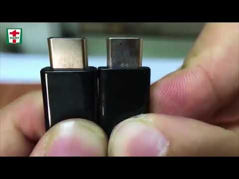 Cáp Type C s8, Note 8 chính hãng | Hướng dẫn chọn mua cáp sạc type C | T-Mart.vn