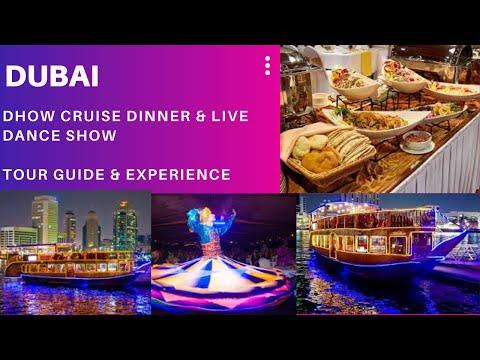 Dhow Cruise Dinner & Live Dance Show at Dubai Creek
