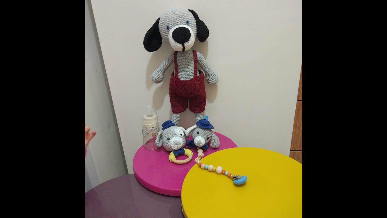 #Amigurumi Köpek Yapımı (6. Part Kulak Yapımı)