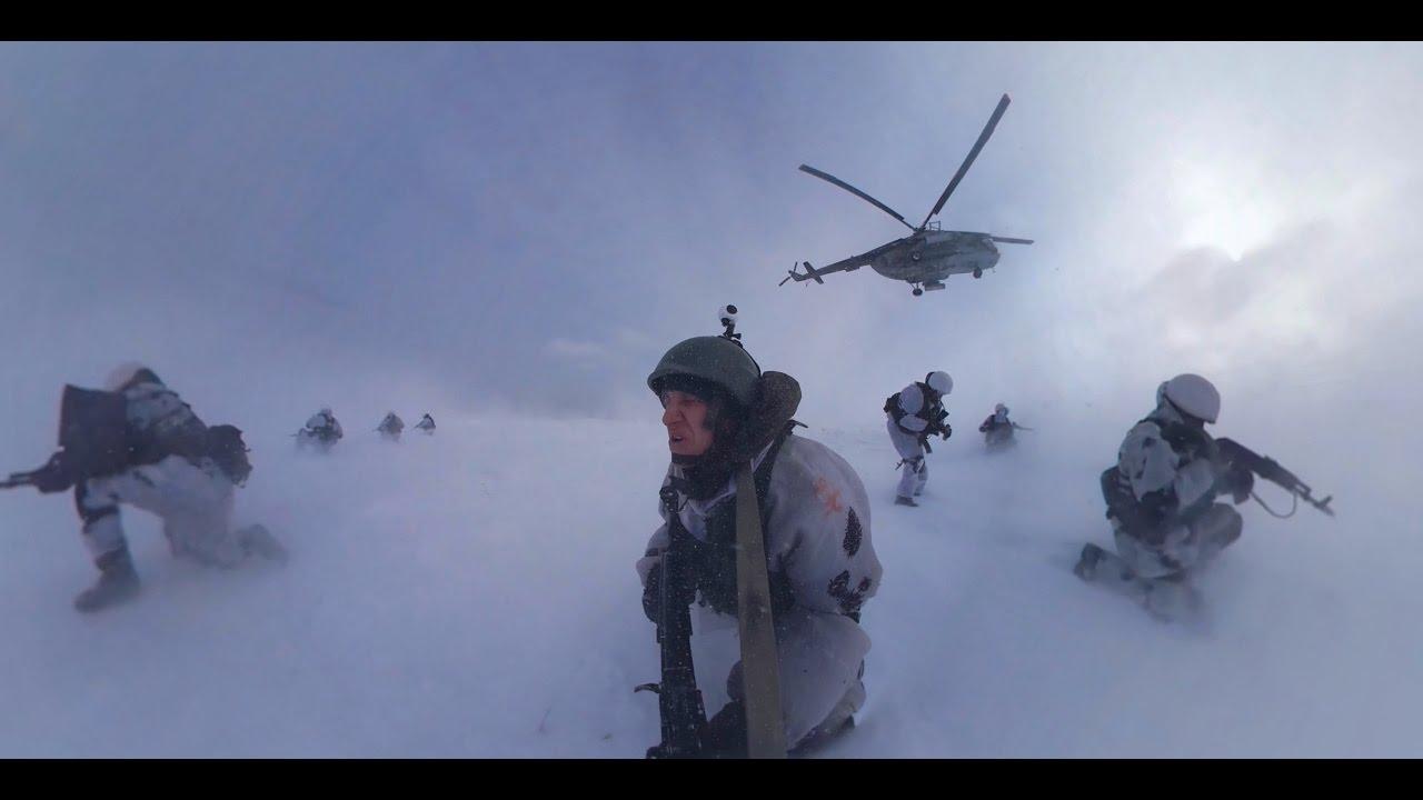 Военные учения 360°: высадка десанта и захват БТР