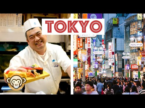 Top 10 Things to do in TOKYO, Japan - Go Local (2017)