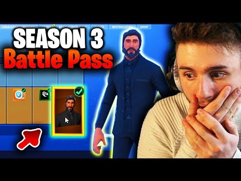 Ich ZEIGE INGAME ALLE SEASON 3 BATTLE PASS SKINS + ITEMS - Fortnite Battle Royale