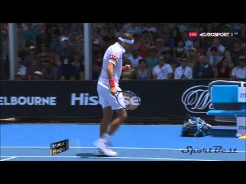 Fabio Fognini vs Gilles Muller Highlights ᴴᴰ Australian Open 2016