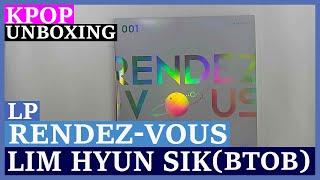Unboxing Lim Hyun Sik (BTOB) [RENDEZ-VOUS + LIVE ALBUM] 2LP …