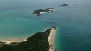 Helicopter Tour Capricorn Coast Southern Great Barrier Reef Queensland Australia