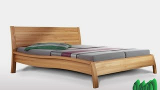 Wooden bed ideas | Double Bed designs | indian bed designs | Double bed with storage