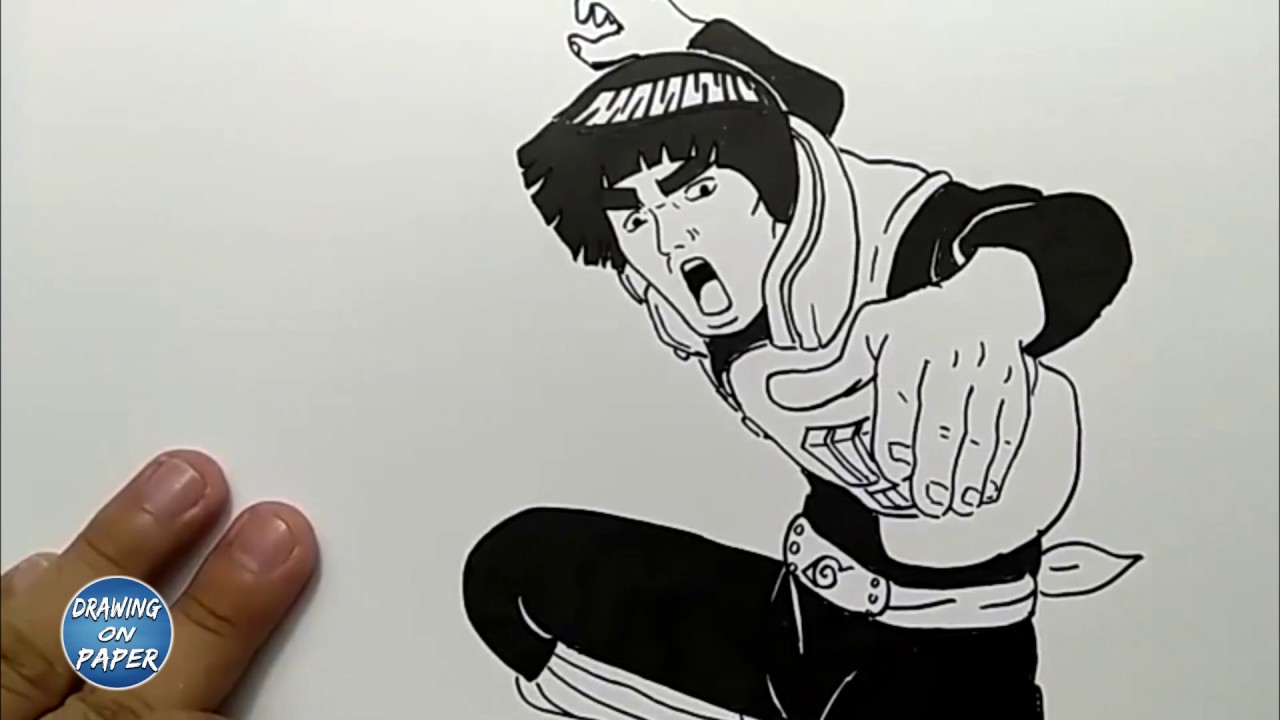 Very Easy!! How to Draw Guy Sensei - Drawing doodle art for kids
