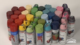 How to Spray Paint - Tips from Lowe