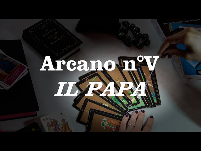 Tutorial sui tarocchi - Il papa n°V