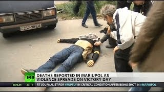 RT journalist shot on streets of Mariupol, Ukraine
