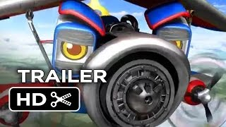 Wings: Sky Force Heroes Official Trailer 1 (2014) - Josh Duhamel, Hilary Duff Animated Movie HD