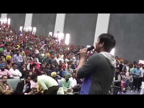 Amrinder Gill live performance