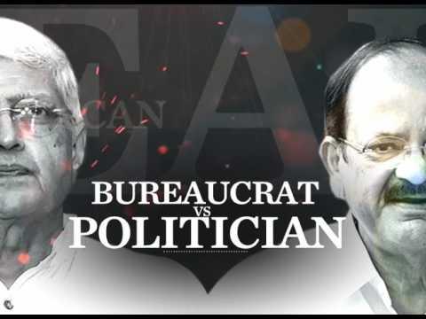 BUREAUCRAT VS POLITICIAN