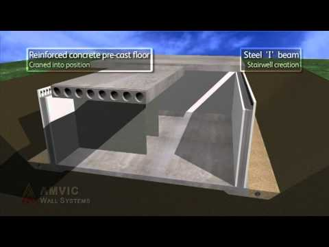 Amvic Insulating Concrete Formwork  YouTube