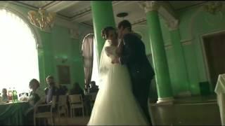 Волшебный свадебный вальс молодоженов. Студия